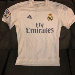 Adidas White FC Barcelona Jersey Soccer